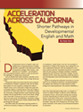 Acceleration across California: Shorter Developmental Pathways in English and Math