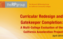 Just Released: RP Group Evaluation of 16 CAP Colleges